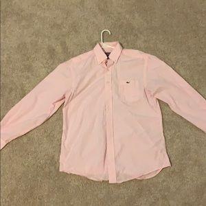 Pink Medium Vineyard Vines button up shirt
